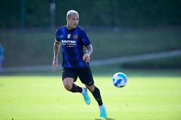 En attendant l'officialisation du départ de Romelu Lukaku, Radja Nainggolan quitte l'Inter Milan