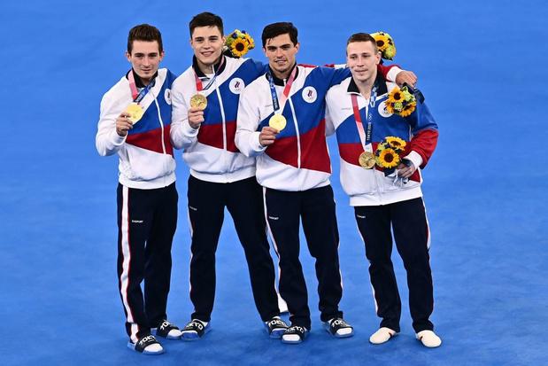 Gymnastique: la Russie sacrée dans le concours par équipes 25 ans après son dernier titre