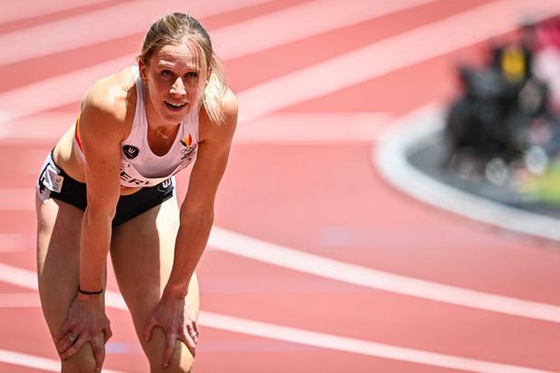 Imke Vervaet ne disputera pas la finale du 200 m