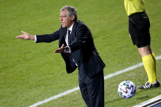 """""""La Belgique est un des favoris de l'Euro"""", selon le selectionneur portugais"""