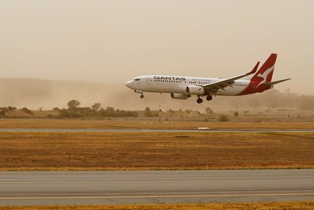 Luchthaven Canberra gesloten als gevolg van bosbranden