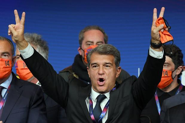 FC Barcelone: Laporta élu président, la reconstruction peut commencer