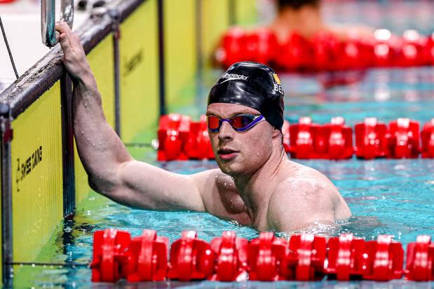 Louis Croenen qualifié pour les demi-finales du 200m papillon avec le 14e chrono