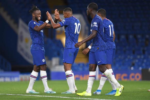 Batshuayi buteur avec... les U23 de Chelsea, Dendoncker accroche United