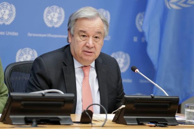"""António Guterres (ONU) : """"l'argent du contribuable ne doit pas servir à renflouer des entreprises polluantes"""""""