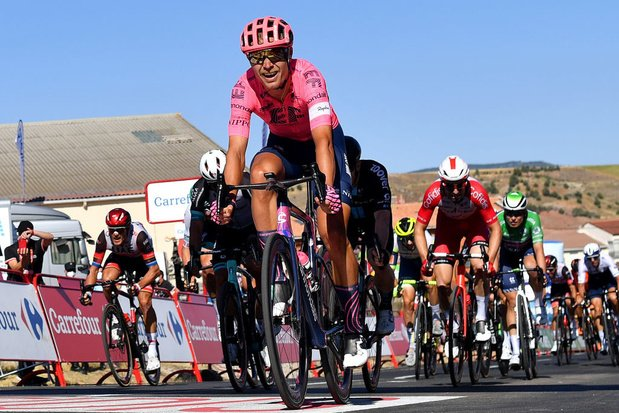 Vuelta: l'étape pour Magnus Cort Nielsen, le maillot de leader pour Roglic