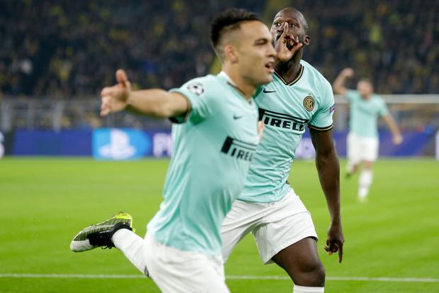 "Lautaro Martinez: ""Avec Lukaku, on se trouve bien"""