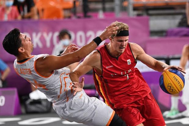 Basket 3X3: La Belgique s'impose après prolongation face aux Pays-Bas et se rapproche des quarts