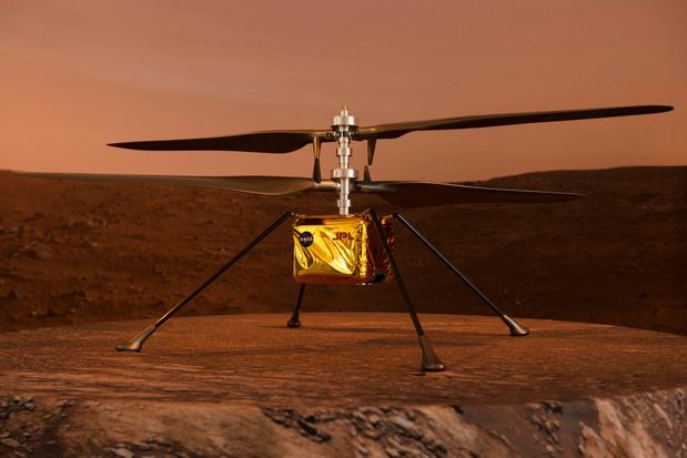 """Le robot Perseverance arrive sur Mars: """"On peut découvrir un livre ouvert sur le passé du système solaire"""""""