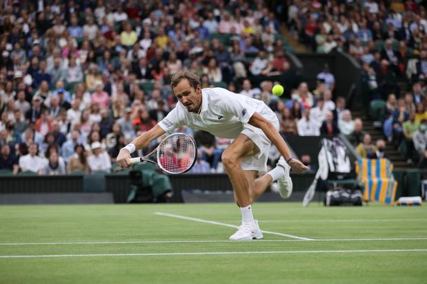 Wimbledon: Medvedev n'affrontera pas Federer, Pliskova, Sabalenka et Kerber dans le dernier carré