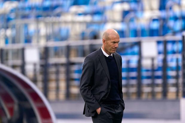 Zinédine Zidane quitte le Real Madrid (officiel)