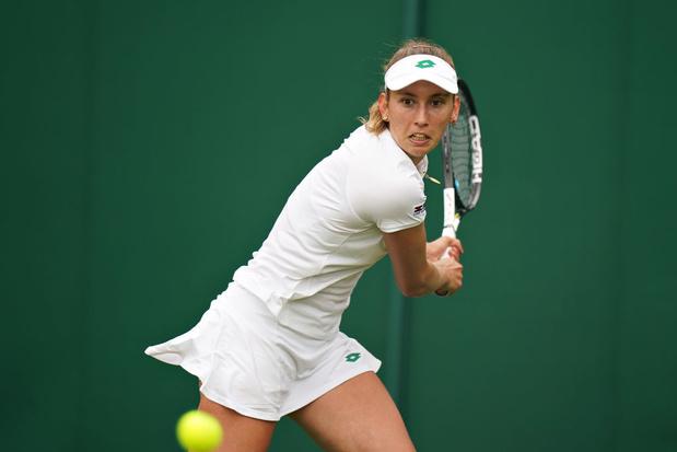 Wimbledon: Elise Mertens file comme une flèche au 2e tour