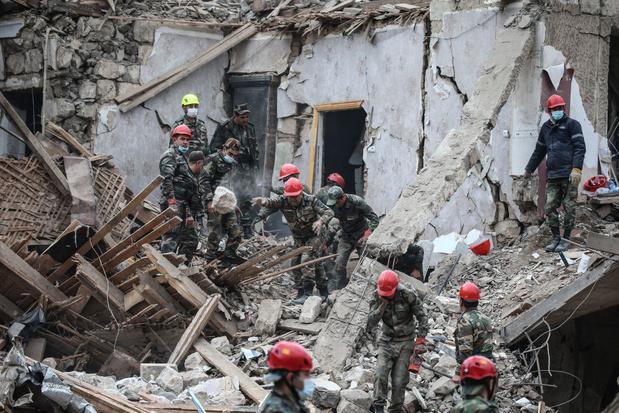 Zeven doden in Azerbeidzjan door 'Armeense bombardementen'