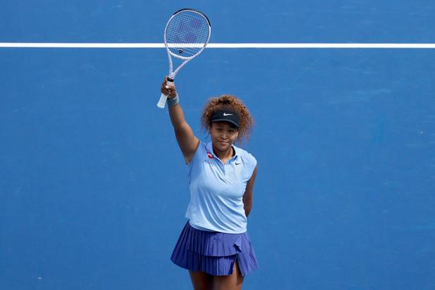 Retour gagnant de Naomi Osaka sur le circuit WTA