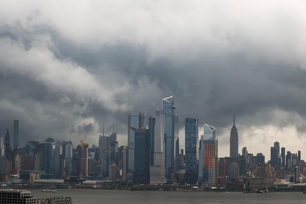 Inondations à New York en attendant la tempête Elsa