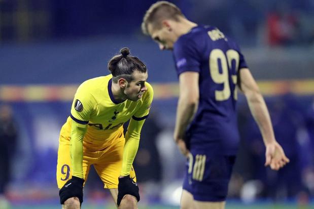 Europa League: exploit du Dinamo Zagreb qui élimine Tottenham, Arsenal battu mais qualifié