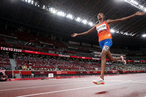Et de une pour Sifan Hassan qui vise un incroyable triplé en athlétisme