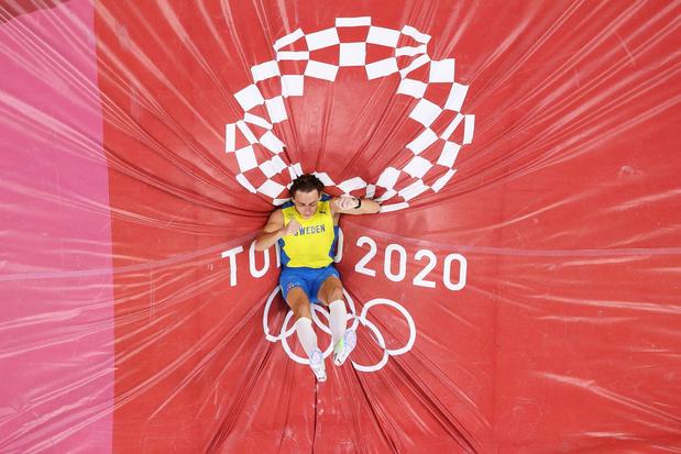 Un Armand Duplantis en or à la perche, mais sans nouveau record du monde