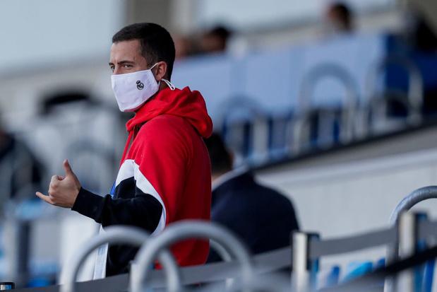 Zidane prendra-t-il le risque d'aligner Eden Hazard en Ligue des champions?