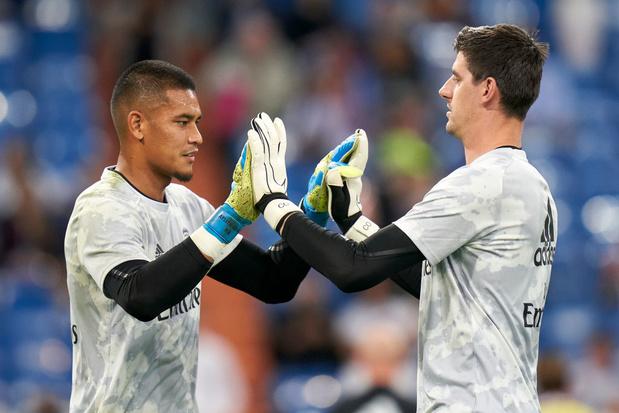 Le Real, sans Hazard et Courtois, prend la tête de la Liga