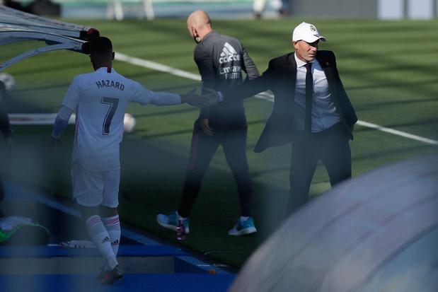"""Zidane: """"Eden Hazard est important pour nous"""""""