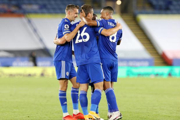 Leicester et ses Belgian Foxes dans l'ombre du Big six