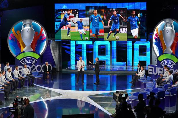 Euro: l'Italie dévoile ses 26, avec une surprise