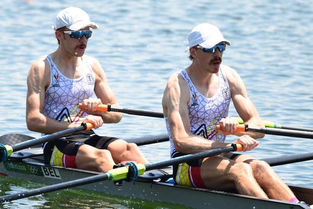 Pas de médaille et un goût amer pour Tim Brys et Niels Van Zandweghe en aviron