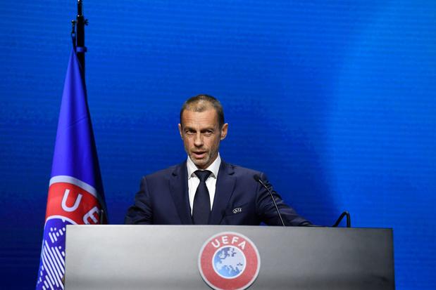 """Ceferin (UEFA) veut """"rebâtir l'unité"""" du foot européen"""