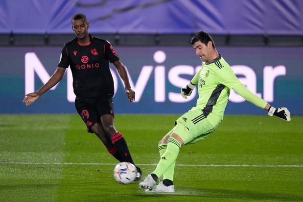 Le Real Madrid et Thibaut Courtois arrachent le nul face à la Real Sociedad