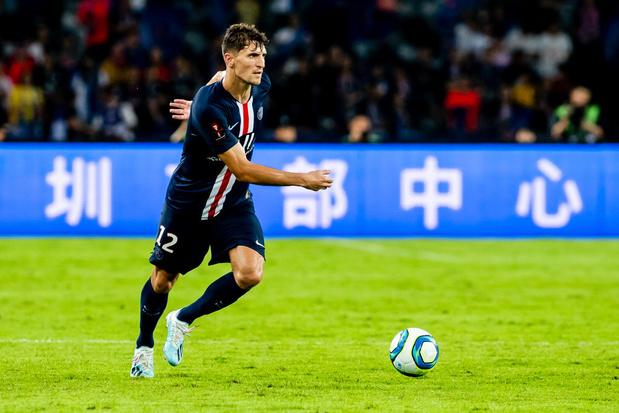 Le PSG assure ses débuts, Meunier joue 15 minutes