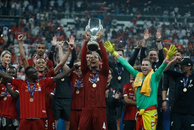 Liverpool, avec Origi en fin de match, bat Chelsea et décroche une 4e Supercoupe
