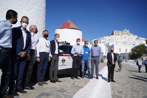 Volkswagen ontwikkelt elektrisch eiland