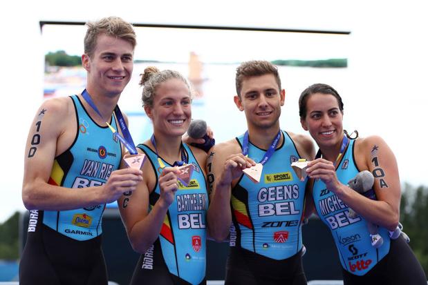 Tokyo 2021 - Triathlon: Jelle Geens au départ avec les Belgian Hammers après une infection au Covid