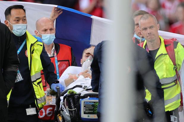 Euro 2021: Christian Eriksen toujours hospitalisé dans un état stable