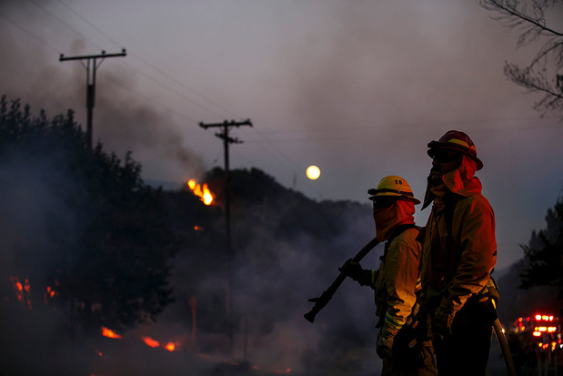 Onheilspellend begin bosbrandseizoen bedreigt Californische wijn