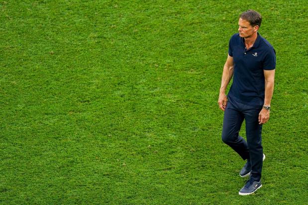 EURO 2021: Frank de Boer n'est plus le sélectionneur des Pays-Bas