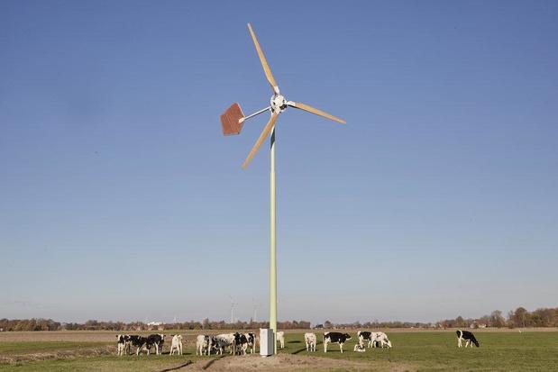 Eerste kleine windturbines in Veurne zijn vergund