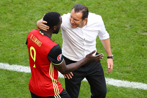 """Marc Wilmots compare Lukaku """"le maniaque de son sport"""" à Gerd Müller"""