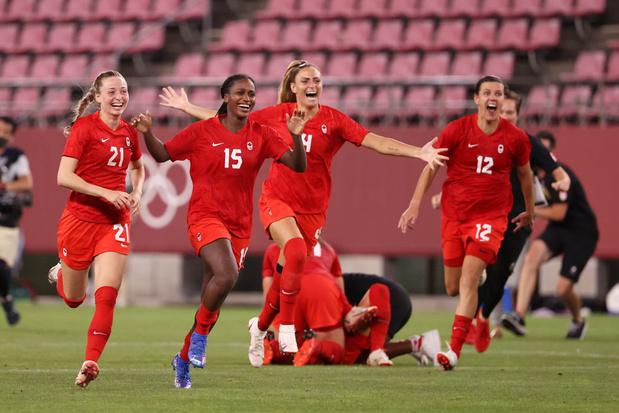 Les Américaines, grandissimes favorites à l'or olympique, sorties par le Canada en demi-finale