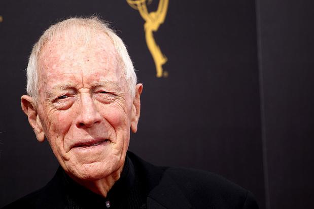 Max von Sydow (90), acteur in 'The Exorcist' en 'Het zevende zegel', overleden