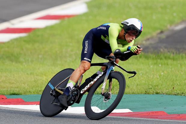 Roglic champion olympique du chrono, pas de médailles pour Van Aert et Evenepoel