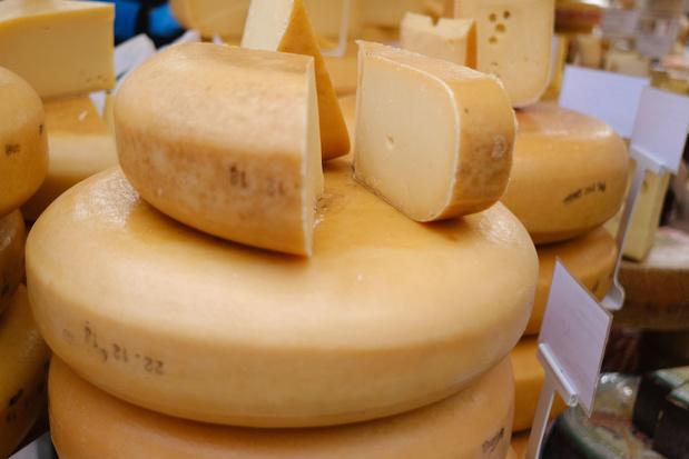 West-Vlaanderen is de grootste kaasproducent van België