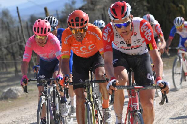 Coronavirus: la course cycliste des Strade Bianche annulée