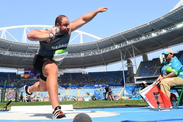 Un lanceur de poids géorgien exclu des JO pour dopage