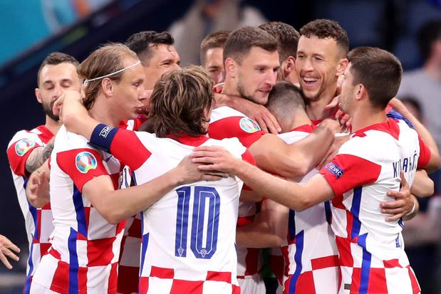 EURO 2021: La Croatie verra les 1/8e, l'Angleterre en tête du groupe