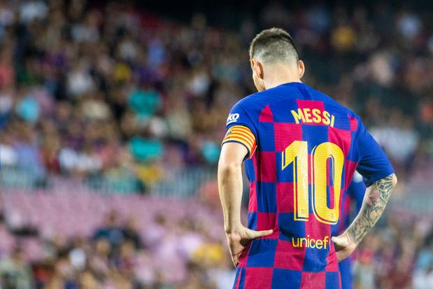 Messi a repris l'entraînement