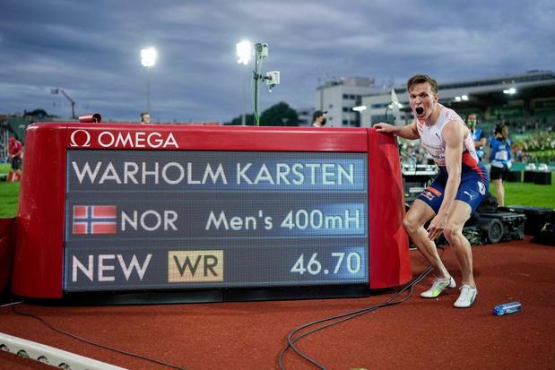 Karsten Warholm bat un record vieux de... 29 ans