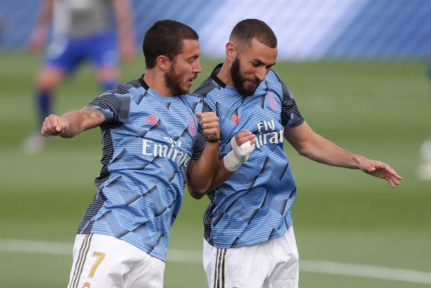 "Benzema-Hazard, ""un régal"" pour Zidane"