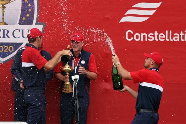 Ryder Cup: triomphe implacable de la jeunesse américaine sur l'Europe